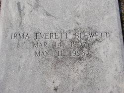 Irma <i>Everett</i> Blewett