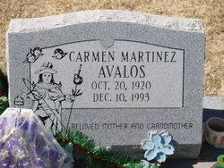 Carmen <i>Martinez</i> Avalos