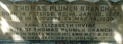 Thomas Plummer Branch