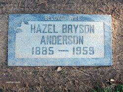 Hazel <i>Bryson</i> Anderson