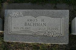 Amos Harvey Bachman