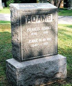 Jennie M. <i>Bulpitt</i> Adams