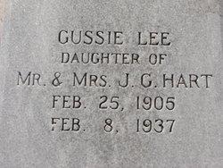 Gussie Lee Hart