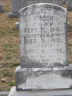 Margaret Ann <i>Bynum</i> Atwater