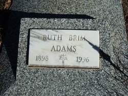 Ruth Rhena <i>Brim</i> Adams