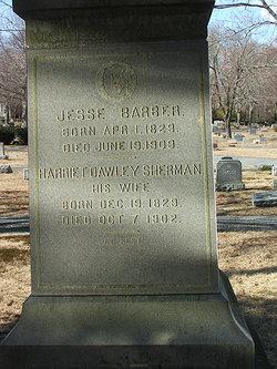 Harriet Dawley <i>Sherman</i> Barber