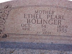 Ethel Pearl <i>Griffith</i> Bolinger