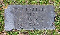 Ida S <i>Lowe</i> Luther