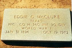 Eddie Gibbs McClure