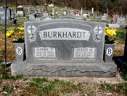 Jessie Margaret <i>Ricketts</i> Burkhardt