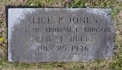 Alice Penelope <i>Jones</i> Brinson