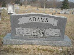 Anna Leona <i>Essary</i> Adams