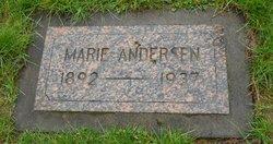 Marie <i>Sorlie</i> Andersen