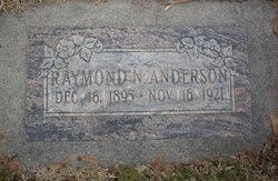 Raymond Newman Anderson