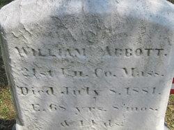 Pvt William Abbott