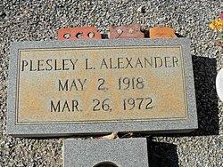 Plesley L. Alexander