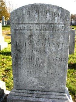 Annie <i>Cumming</i> Grant
