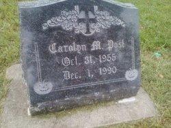 Carolyn M Post