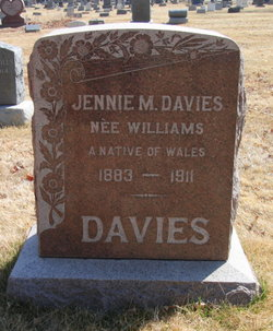 Jennie M. <i>Williams</i> Davies