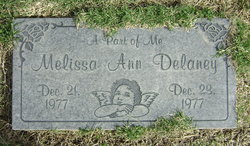 Melissa Ann Infant Delaney