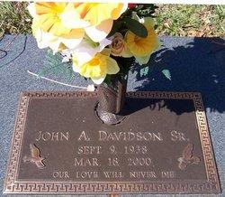 John A. Davidson, Sr
