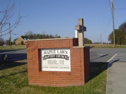 Maple Lawn Baptist Church Cemetery