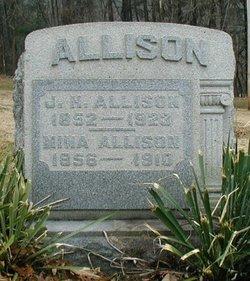 Mina E. <i>Porter</i> Allison