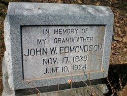 John W Edmondson