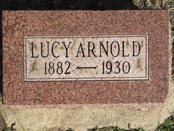 Lucy <i>Harkney</i> Arnold
