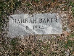 Hannah <i>Larimer</i> Baker