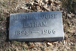 Martha Louise <i>Thompson</i> Latham