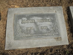Mattie Jane <i>Couts</i> Bruning