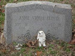 Annie Viola Lloyd