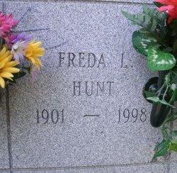 Freda L <i>Roecker</i> Hunt