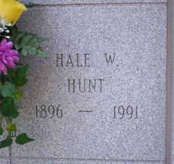 Hale W Hunt