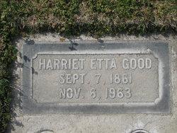Harriet Etta <i>Roberts</i> Good