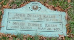 Helen Winifred <i>Turner</i> Kalar
