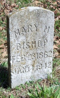 Mary M. <i>Brown</i> Bishop