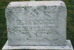 Elsie R <i>Staples</i> Emerson