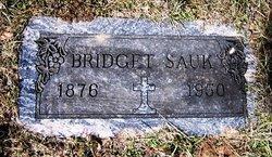Bridget Frances <i>McEvilly</i> Sauk