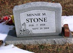 Minnie M Stone