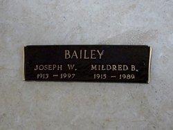 Mildred Thelma <i>Burgess</i> Bailey