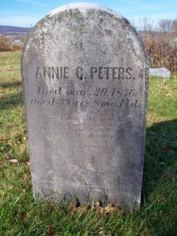 Annie C Peters