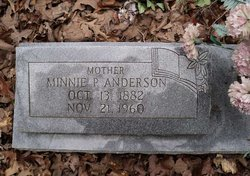 Minnie P Anderson