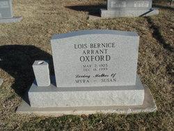 Lois Bernice <i>Arrant</i> Oxford