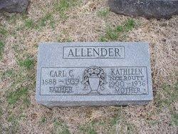 Kathleen <i>Routt</i> Allender