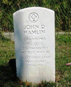 PFC John D Hamlin