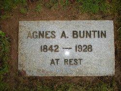 Agnes A. Buntin