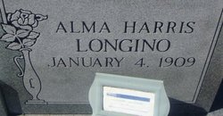 Alma <i>Harris</i> Longino