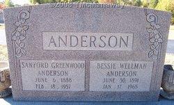 Bessie <i>Wellman</i> Anderson